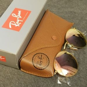 Ray Ban Sunglasses Round Rose Pink 😘